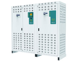 Low Voltage Capacitor banks with Thyristors and filters
