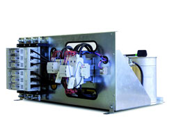 Rack module for low voltage Capacitor banks